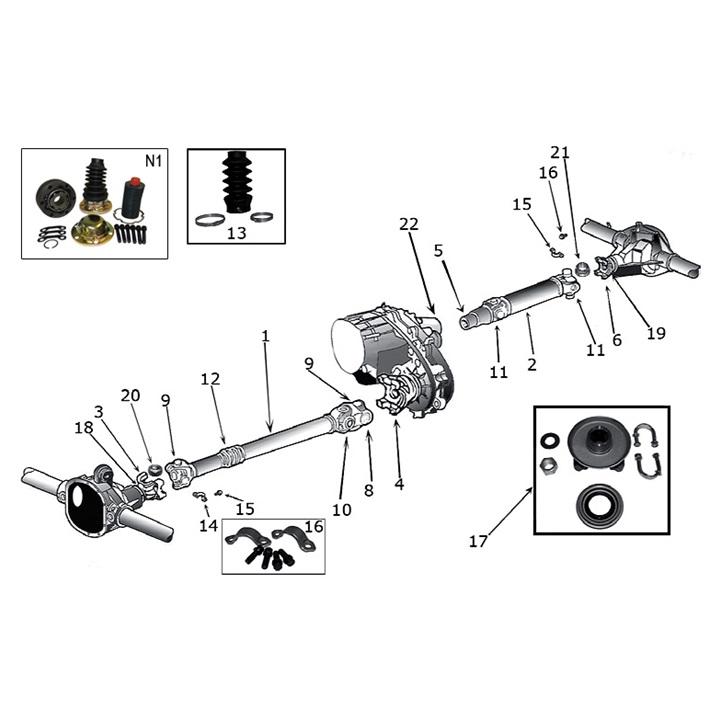 jeep kardanwelle kardan kreuzgelenk kardanantrieb. Black Bedroom Furniture Sets. Home Design Ideas