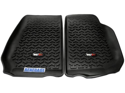 Jeep Wrangler JK Fußmatten Set Fußmatten Fußraumwannen