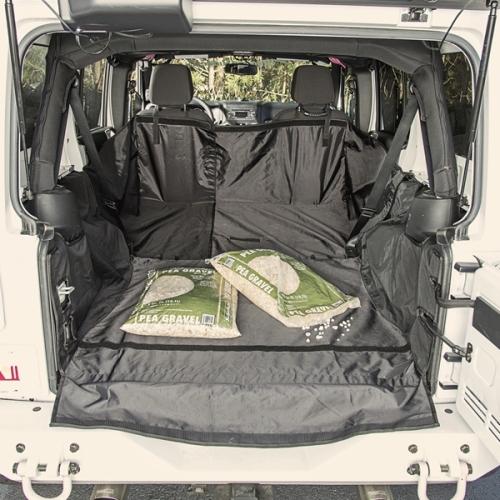Jeep Wrangler JK 4türer Cargo Cover Schutzmatte