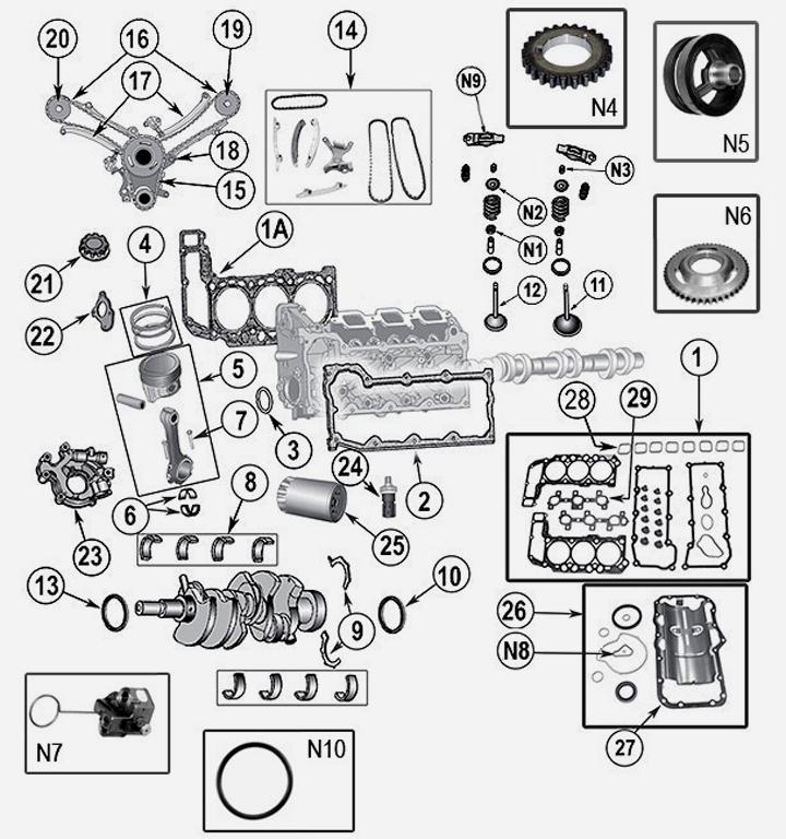 3 7 l 6 cyl v6 engine parts for jeep cherokee liberty kk rh renegade  station de jeep liberty 3 7 engine diagram jeep liberty 3 7 engine diagram