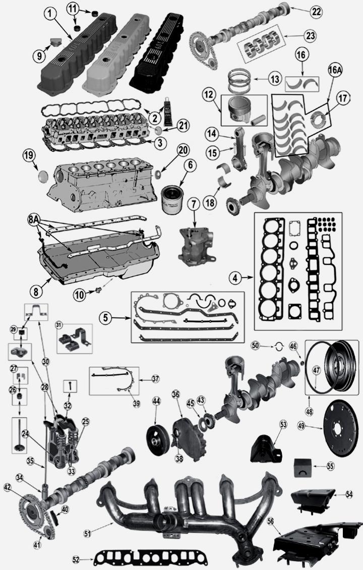 jeep cherokee xj 4 0 l 6 zyl motor. Black Bedroom Furniture Sets. Home Design Ideas