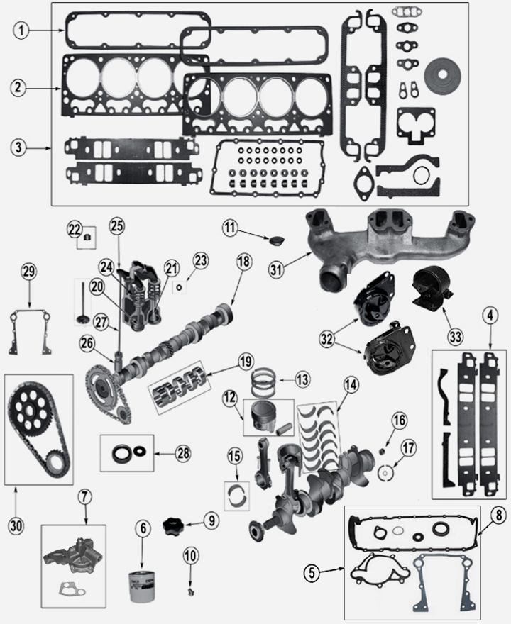 jeep grand cherokee zj zg 5 2 l 8 zyl motor. Black Bedroom Furniture Sets. Home Design Ideas