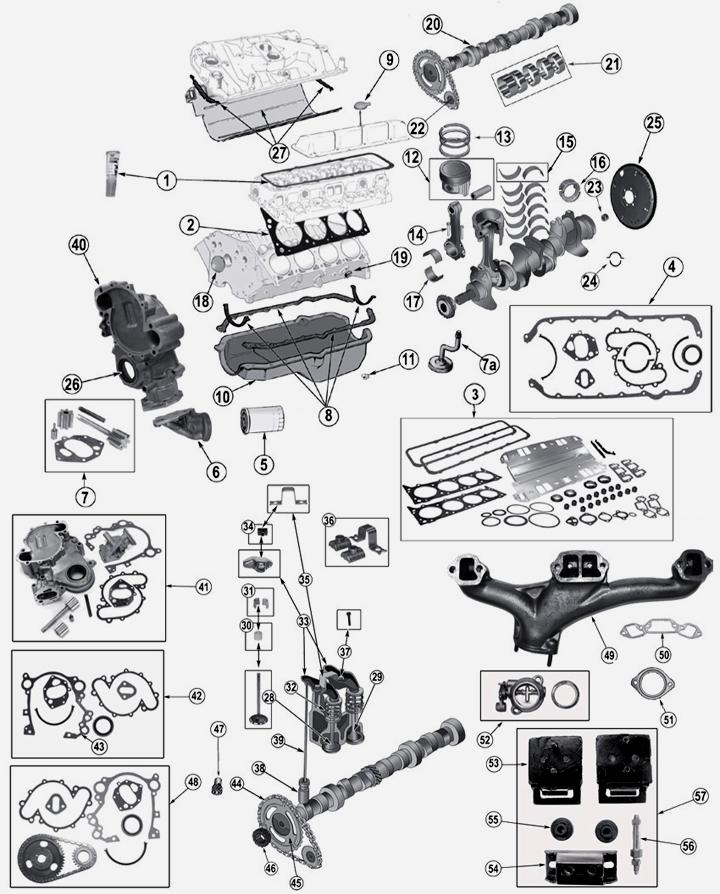 jeep wagoneer 5 0 l 304 amc 8 zyl motor. Black Bedroom Furniture Sets. Home Design Ideas