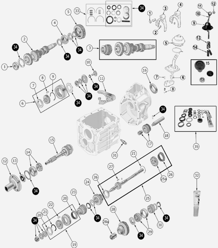 Sanderson Ff463 Headers Big Block Ford 1960 besides T18 Transmission Shifter besides 1948 Ford F1 Wiring Harness furthermore 2001 Toyota Ta a Suspension Lift furthermore 2000 Jeep Wrangler Parts Diagram. on ford truck wiring harness kits