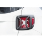 Preview: Jeep Renegade BU Black textured Tail Light Euro Guards Set Rugged Ridge 15-17