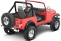 Preview: Jeep CJ Überrollbügel Polster Überrollbügelpolster Black Crush Bestop 80-86