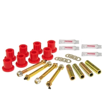 JEEP CJ AND WRANGLER YJ 76-95 HD STOCK FRONT U BOLT SET OF 4