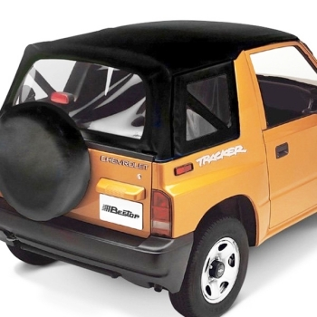 Geo Tracker Suzuki Sidekick Vitara Santana Replacement Top for OE Top Black  Crush Bestop 95-98