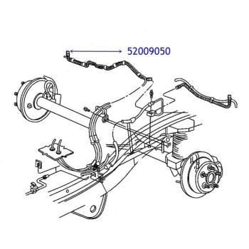 "Bremspedalgummi 5/"" Automatik Pedalgummi Jeep Grand Cherokee ZJ 92-98"