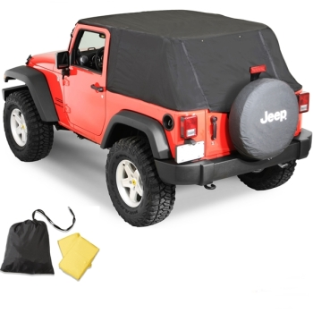 Jeep Wrangler JK 2türer Emergency Top Notfall Softtop Cover Pavement Ends 07-18