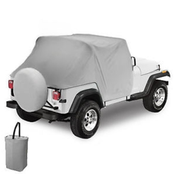Jeep CJ7 Wrangler YJ All Weather Trail Cover Grey Charcoal Bestop 80-91