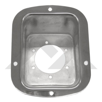 Jeep CJ Wrangler YJ Fuel Neck Protector Stainless Steel 76-95