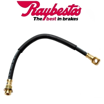 "Jeep CJ Brake Hose Front to Caliper left or right for 10"" & 11"" Disc Brakes Raybestos 78-81"