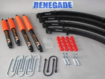 "Jeep Wrangler YJ Lift Kit Trailmaster with TÜV 2""- 50mm Suspension System year 87-95"