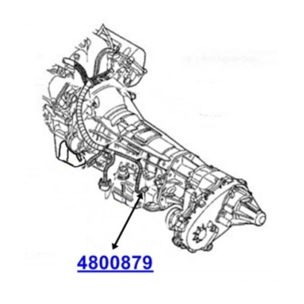Jeep Grand Cherokee ZJ ZG Automatic Transmission Output Speed Sensor 42RE  44RE Standard 93-98Renegade Station