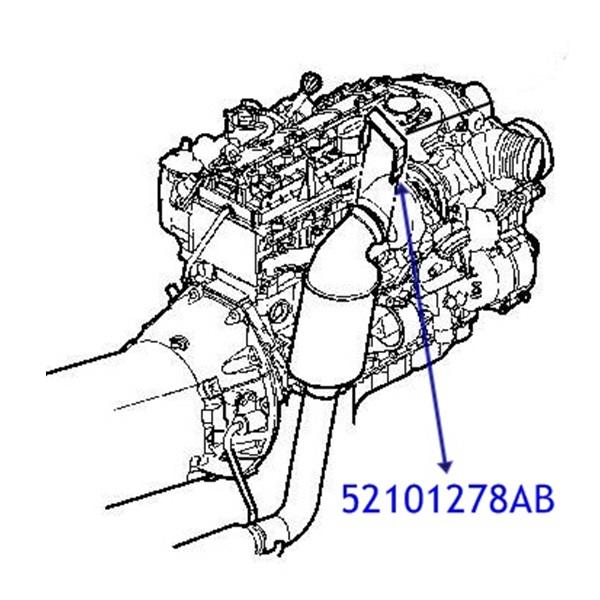 Jeep Grand Cherokee  2.7 CRD  Exhaust Gasket Seal
