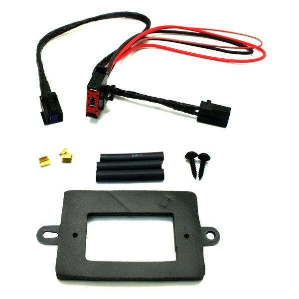 jeep grand cherokee wj blower motor resistor power module wiring harness  upgrade kit 99-04  renegade station