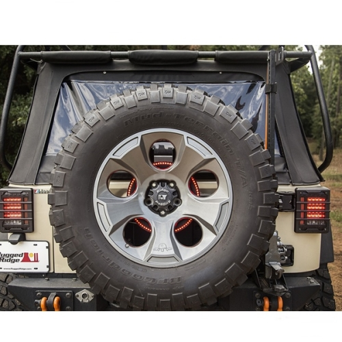 Jeep CJ Wrangler YJ TJ JK Third Brake Light LED Ring 76-17