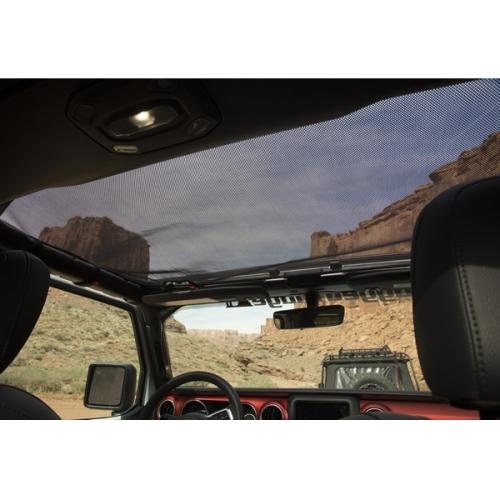 Jeep Wrangler JL Eclipse Bikini Top vorne Mesh Hardtop Schwarz 18