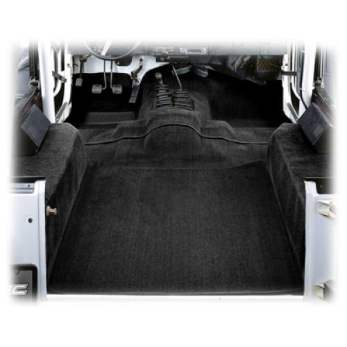Jeep CJ Wrangler YJ Teppichsatz Teppich 6teilig schwarz