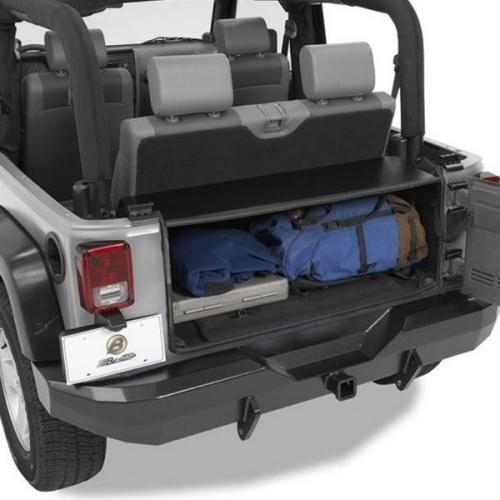 jeep wrangler jk stahl staubox instatrunk im kofferraum. Black Bedroom Furniture Sets. Home Design Ideas