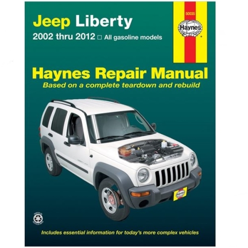 jeep cherokee liberty kj kk repair manual haynes 02-12  renegade station