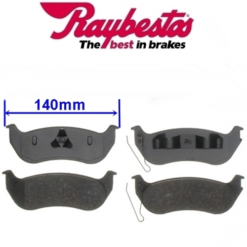 Jeep Wrangler TJ rear Brake Pad Set Raybestos 03-06