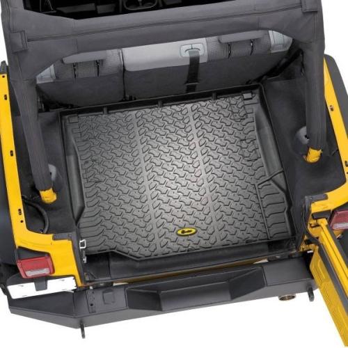 Jeep Wrangler JK Laderaumwanne Kofferraumwanne schwarz