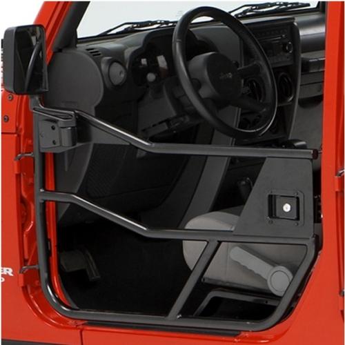 Jeep CJ CJ7 CJ8 Wrangler YJ Set Half Doors Element Tube Doors HighRock 4x4 satin black ... & Jeep CJ CJ7 CJ8 Wrangler YJ Set Half Doors Element Tube Doors ...
