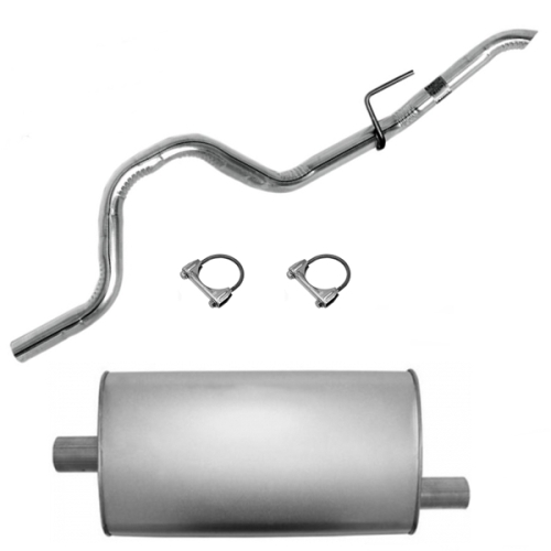 "Jeep Grand Cherokee ZJ ZG 4,0 & 5,2 ltr. Single Cat-Back Exhaust System with Muffler Ø 2"" 93-95"