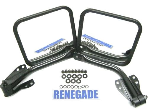 Jeep cj wrangler yj specchietto laterale einarm specchio - Specchio retrovisore laterale sinistro ...