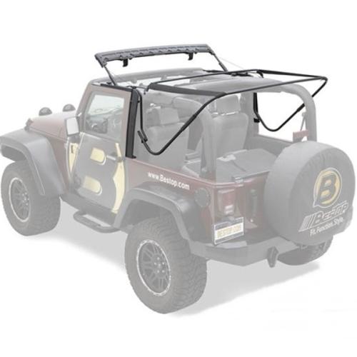 jeep wrangler jk 2t rer gest nge set verdeckgest nge f r. Black Bedroom Furniture Sets. Home Design Ideas