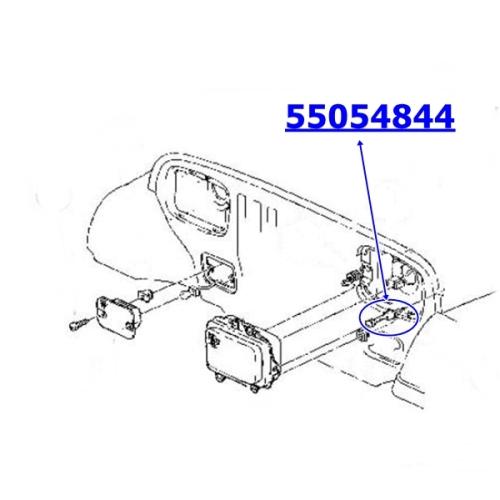 Jeep Wrangler YJ Headlight Adjusting Screw left or right 87-95