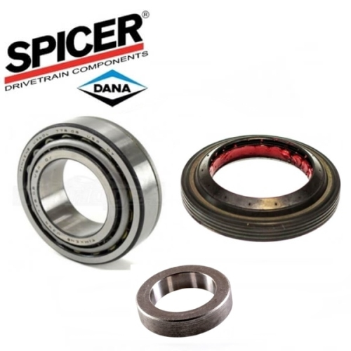 Rear Wheel Bearings /& Inner Seal for Jeep Wrangler with Spicer Rear 44-1HD 94-09
