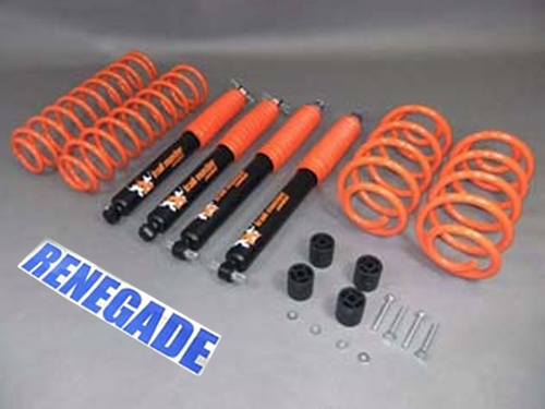 "Jeep Wrangler TJ Lift Kit Trailmaster with TÜV 2""- 50mm Suspension System year 96-06"